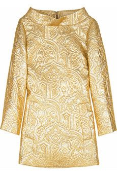 Michael Kors Metallic bateau tunic | THE OUTNET