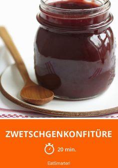 Zwetschgenkonfitüre - smarter - Zeit: 20 Min.   eatsmarter.de