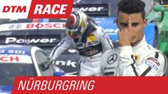 Unhappy Wehrlein Wants a Word with Martin After Crash! - DTM Nürburgring...