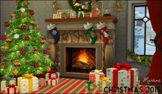 Martine Simblr: Christmas decor • Sims 4 Downloads