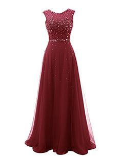 Wedtrend Women's Long Beaded Bridesmaid Prom Dress with Embellished Waist 2 Burgundy WT10167 Wedtrend http://www.amazon.com/dp/B016U5FEYK/ref=cm_sw_r_pi_dp_qgFkwb1H24D9Q