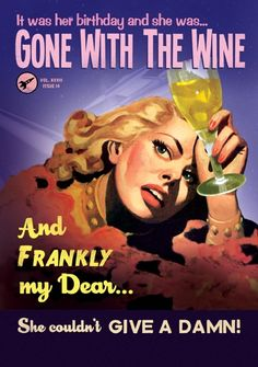 Gone with the wine | Cards from Postmark Online