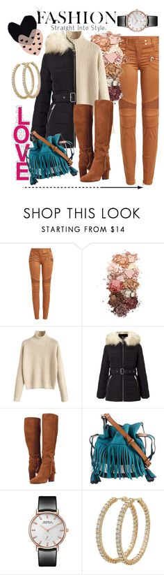 """""""Puff"""" by reese-net ❤ liked on Polyvore featuring Balmain, Sigma, Miss Selfridge, Burberry, Roberto Coin and Seventy Tree"""