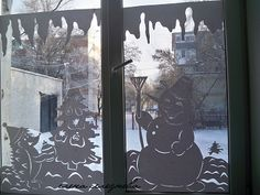 Decoratiuni ferestre din hârtie