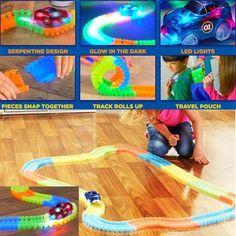 Magic Glow Racing Track Set