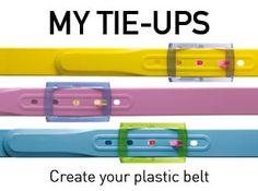 Cinture Tie-Ups, personalizzabili a piacere:)