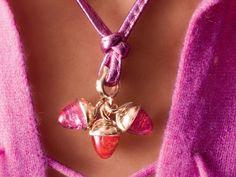 Tamara Comolli pink pendants...♡