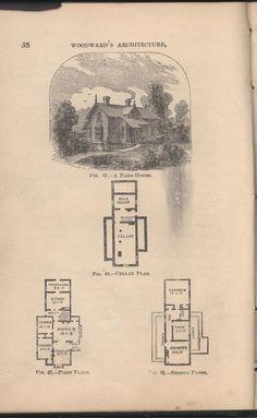 Victorian Cottage Plans Gothic Gingerbread Cottage House Plans Vintage 1881 Antique