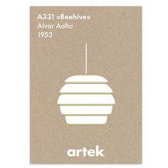 Beehive poster by Artek.