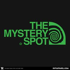 ''The Mystery Spot Shirt'' by RyanAstle available today only, 7/06/15, at RIPT Apparel