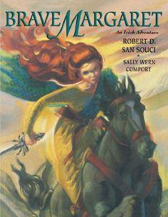 Brave Margaret : An Irish Adventure by Robert D. San Souci,http://www.amazon.com/dp/0689848501/ref=cm_sw_r_pi_dp_h5jVsb10KF60TECY
