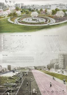 Part of the exhibition of Ri-Formare Milano, exhibited in Triennale di Milano in Project proposed in Design Studio I for the re-thinking of the Naviglio Grande Canal.