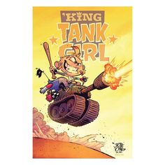 """4,227 Me gusta, 22 comentarios - skottie young (@skottieyoung) en Instagram: """"It's never official until it gets a logo! #tankgirl the comic is drawn by the insanely talented…"""" Skottie Young, Tank Girl, Comic Books, Comics, Logos, Instagram, Drawing Cartoons, Comic Book, Comic"""