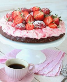 New Year's Desserts, Cake Calories, Valentines Food, Fika, Food Cakes, Foodies, Cake Recipes, Bakery, Sweet Treats