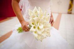 Svatební kytice - kala