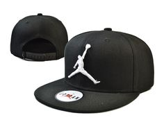 Jordan Snapback Hats Black 158|only US$8.90