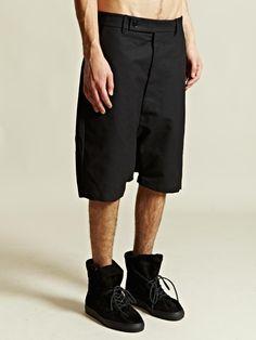Rick Owens Men's Tailored Pod Shorts
