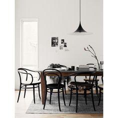 No14 stol, svart i gruppen Möbler / Stolar & Pallar / Stolar hos RUM21.se (124365)
