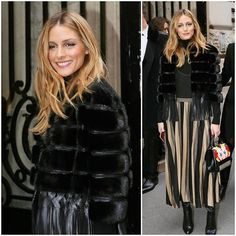 Olivia Palermo wearing Elie Saab _____________________________________________ Follow The Model Diet founder @ScotLouie ‼️ _____________________________________________  #GlossyGang #OliviaPalermo _____________________________________________ Editors Notes: chic!