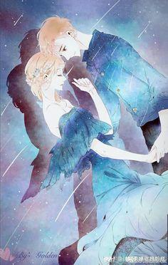 Love like cherry blossom😍 Anime Couples Drawings, Anime Couples Manga, Cute Anime Couples, Manga Anime, Couple Manga, Anime Love Couple, Anime Cherry Blossom, Cherry Blossoms, Anime Galaxy