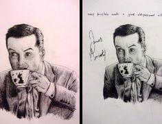 Bit by bit of drawing Jim. :3