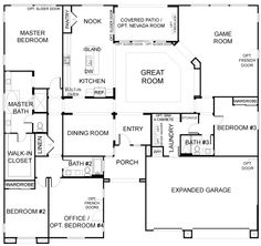 Floor Plan Second Story for luxury home plans AR-Cheverny | Floor ...
