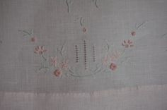 The Old Fashioned Baby Sewing Room: Hemstitch Baby Gown/Class Sample