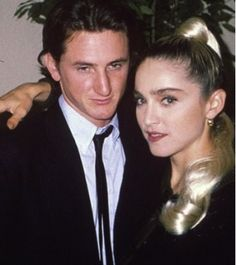 Madonna y Sean Penn se toman la misma foto 24 años después