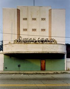 Old movie theater...by Michael Eastman
