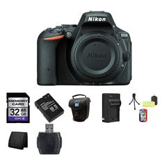 Nikon D5500 Digital SLR Camera 32GB Complete Package