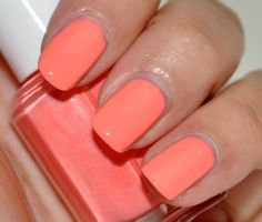 Essie 'Haute as Hello' Summer 2010 Collection.  This is like halfway between pastel and neon (if that is even possible) - love a bright coral!