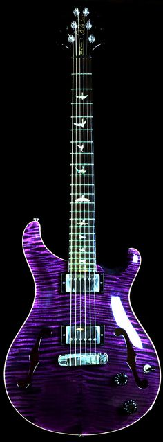Wild West Guitars : Used PRS McCarty Hollowbody II Purple - Sold