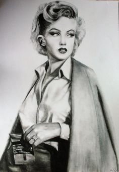 Marilyn Monroe n.2 by ZuSabatkova on DeviantArt