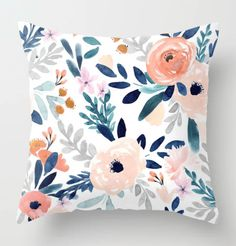 The Best Places to Shop for Designer Throw Pillows – Welsh Design Studio Brown Couch Throw Pillows, Colorful Throw Pillows, Couch Throws, Cute Pillows, Cream Pillows, Decor Pillows, Linen Pillows, Bed Linen, Floral Couch