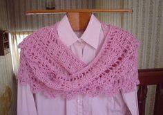 Van deze mooi sjaal heb ik een NL vertaling gemaakt met toestemming van de ontwerpster. Zij heeft deze geplaatst op Ravelry