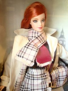 Burberry® Barbie® Doll (another better shooting) - OMG, so stylish!