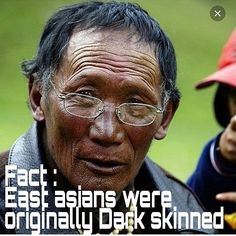 """The original first native inhabitants of China were black Africans who arrived there about 100000 years ago and dominated the region until a few thousand years ago when the Mongol advance into that region began. These Africans who fled the Mongol onslaught can still be found in South East Asia and the Pacific Islands misnomered Nigritos or """"small black men."""" The Agta of the Philippines is one such example. Indeed archeology forensic and otherwise confirm that China's first two dyna..."""