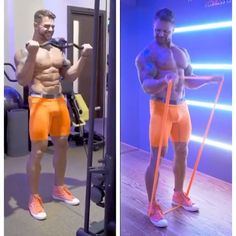 Machine VS Resistance Bands Build a leaner more muscular body without the gym! Ab Workout Machines, Gym Workout Videos, Band Workout, Abs Workout Routines, Ab Workout At Home, Biceps Workout, Gym Workouts, Exercise At Home, Body Fitness
