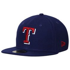 Texas Rangers New Era Hometown Class 59FIFTY Fitted Hat - Royal