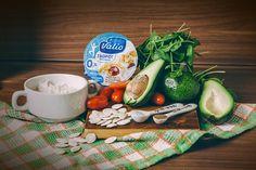 Легкий салат с заправкой из творога - пошаговый рецепт приготовления салата с фото Dairy, Cheese, Recipes, Food, Eten, Recipies, Ripped Recipes, Recipe, Meals