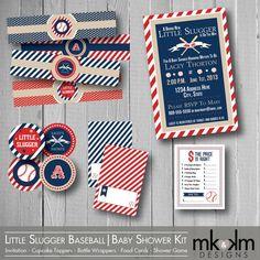 Baseball Baby Shower Printables