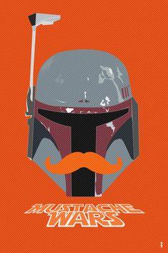 Boba Fett - Mustache Wars