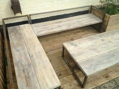 Scaffold board seating