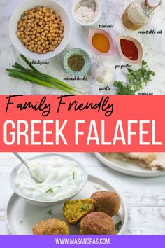 Homemade Vegan healthy baked falafel recipe - whether you want falafel balls or patties, this recipe yields delicious crispy-outside, soft-inside falafels! Tasty, crunchy and kid approved it's also so simple to make. You can make them as bitesize balls or turn them into fun shapes using cookie cutters with the kids! #familyrecipes #bakedfalafels #homemadefalafels #kidfriendlyfood Healthy Meals For Kids, Healthy Baking, Kids Meals, Healthy Snacks, Baked Falafel, Easy Family Meals, Toddler Meals