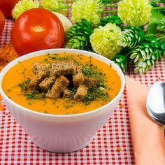 Supă-cremă de linte cu crutoane – o mâncare caldă, cremoasă și suficient de condimentată! - savuros.info