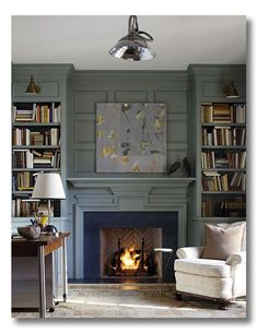 A Room I Love :: A Library Wall To Love