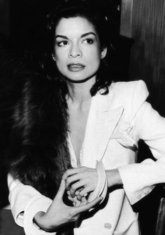 """I don't want to wear what every other women wears. I won't be dictated to."" - Bianca Jagger explaining why she wore trousers to the Calvin Klein's SS 1988 runway show"