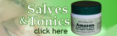 Black salve from Alpha Omega Labs formerly sold as Cansema -- miraculous stuff!