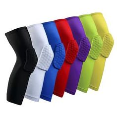 Cheap white knee pads, Buy Quality knee pads directly from China sleeve protectors Suppliers: High Quality Sport Safety kneepad Football knee brace support Leg Sleeve Protector Calf compression Basketball White knee pads Calf Compression, Nba, Basketball Socks, Basketball Court, Leg Sleeves, Knee Brace, Knee Injury, Football, Adulting