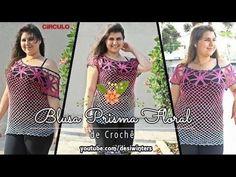 Quer aprender agora como fazer blusa de crochê em passo a passo? Quer se inspirar em lindas fotos de crochê? Quer aulas de crochê grátis? Acesse Já! Booties Crochet, Crochet Clothes, Crochet Patterns, Tank Tops, Selena Gomez, Blouse, Sweaters, Dresses, Women